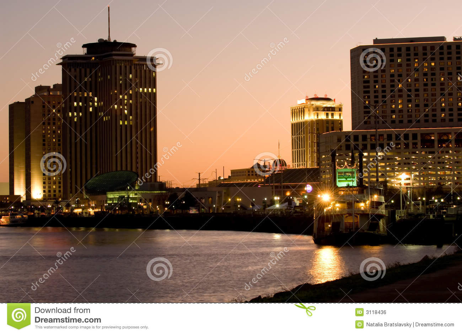 Línea de costa de New Orleans