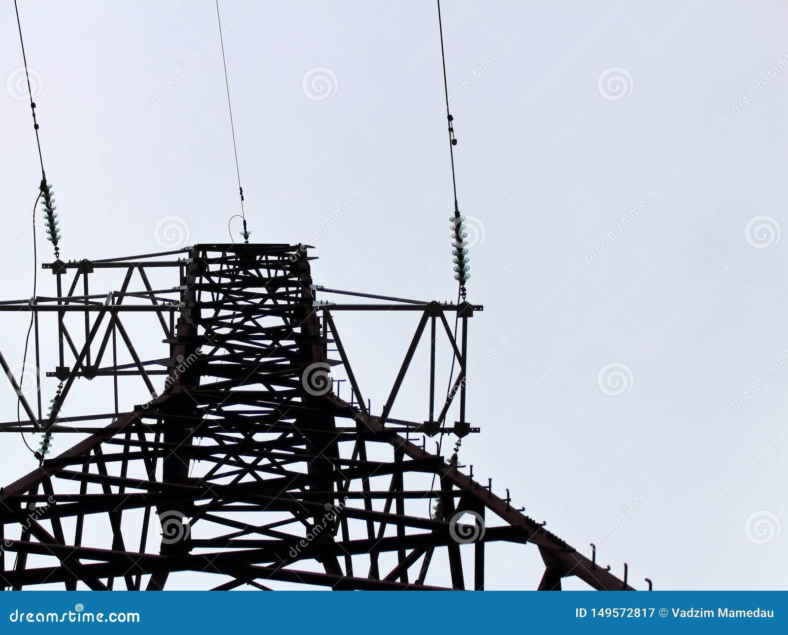 Línea eléctrica, alambres contra