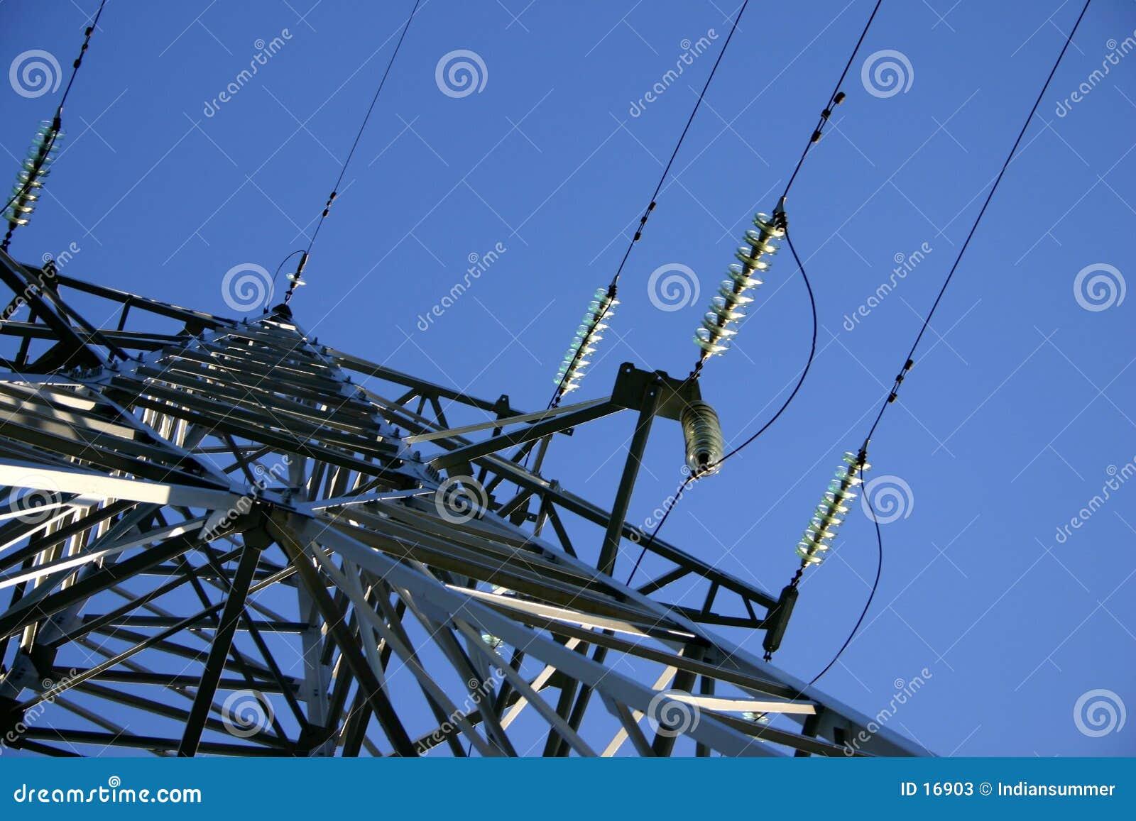 Línea eléctrica III