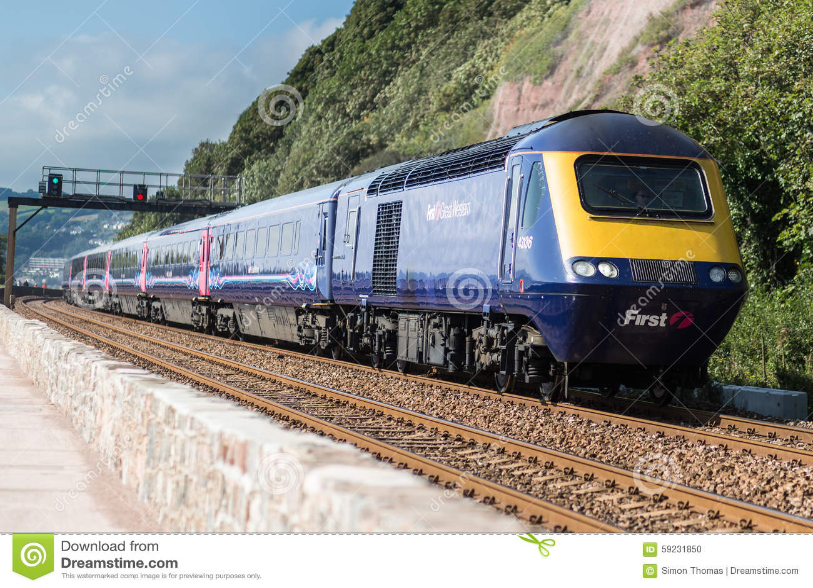 Línea ferroviaria de Teignmouth