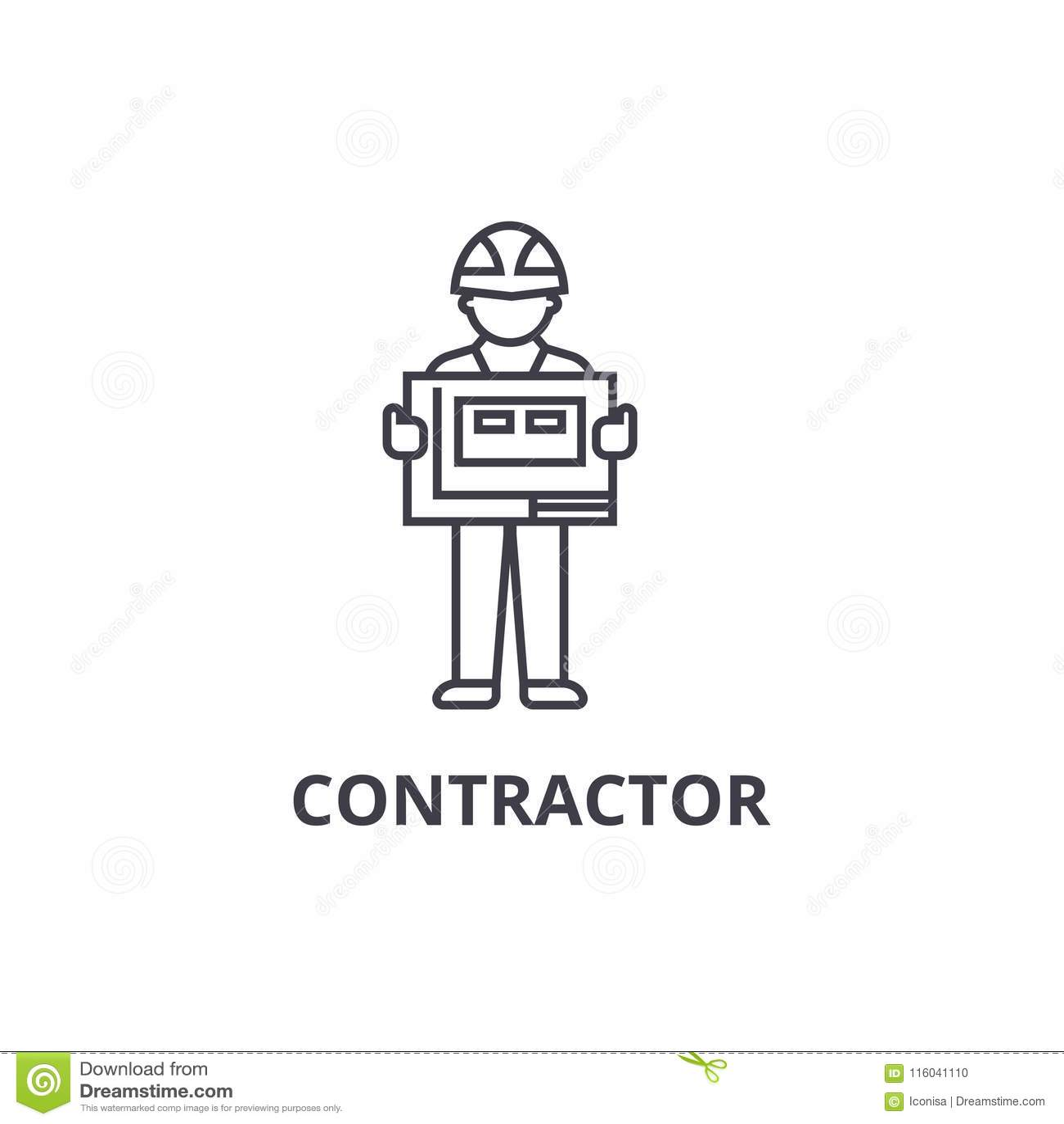 Contratista Ilustraciones Stock, Vectores, Y Clipart – (16,328 ...
