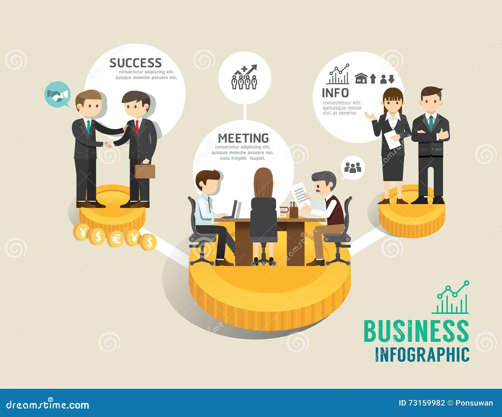 Línea plana concepto del juego de mesa del mercado de acción del negocio de los iconos