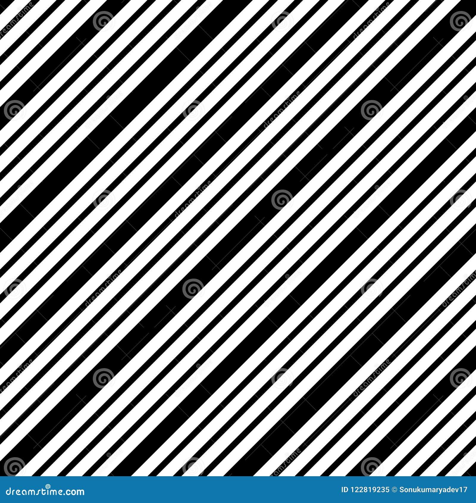 Línea simple modelo blanco y negro del vector inconsútil