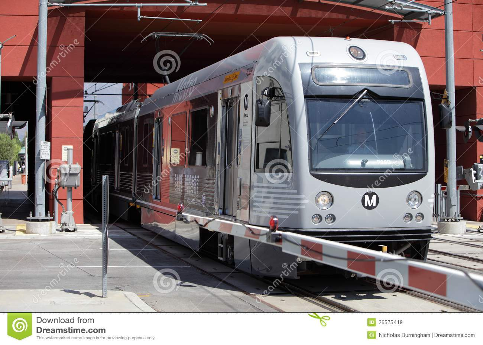 Línea tren del oro en Pasadena