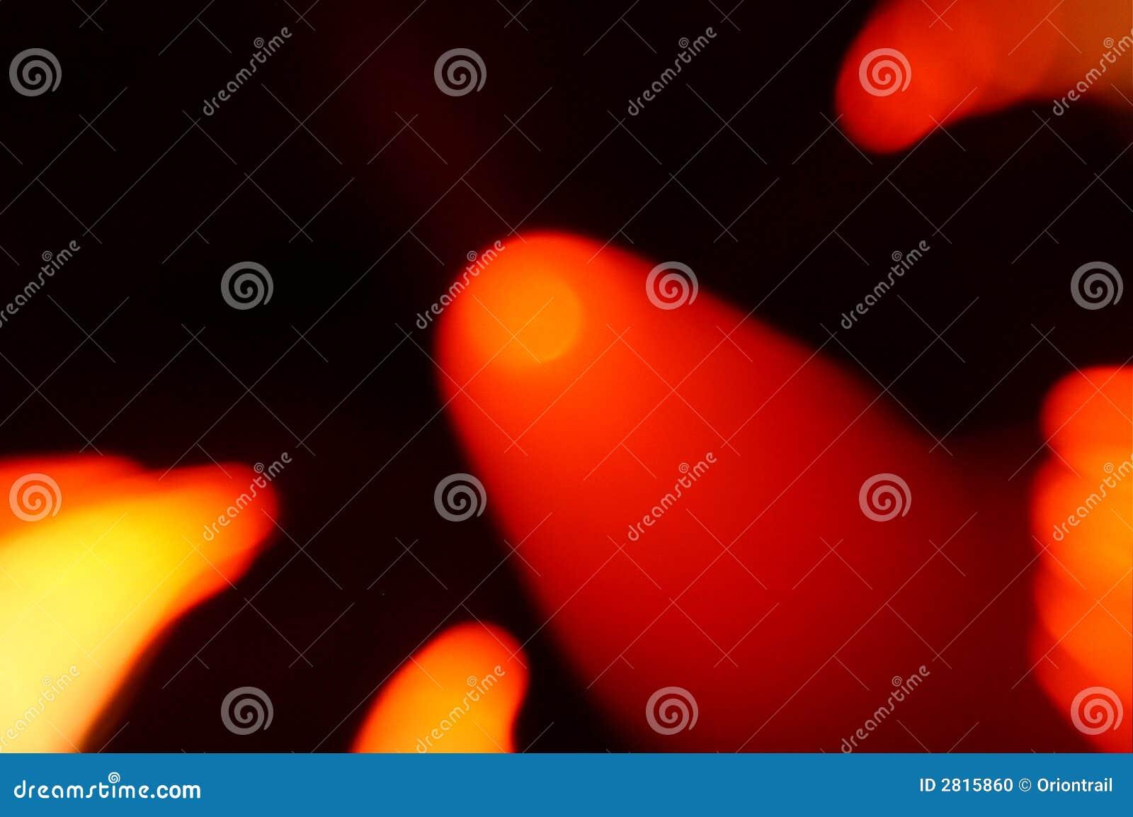 Líneas ópticas de la fibra-luz