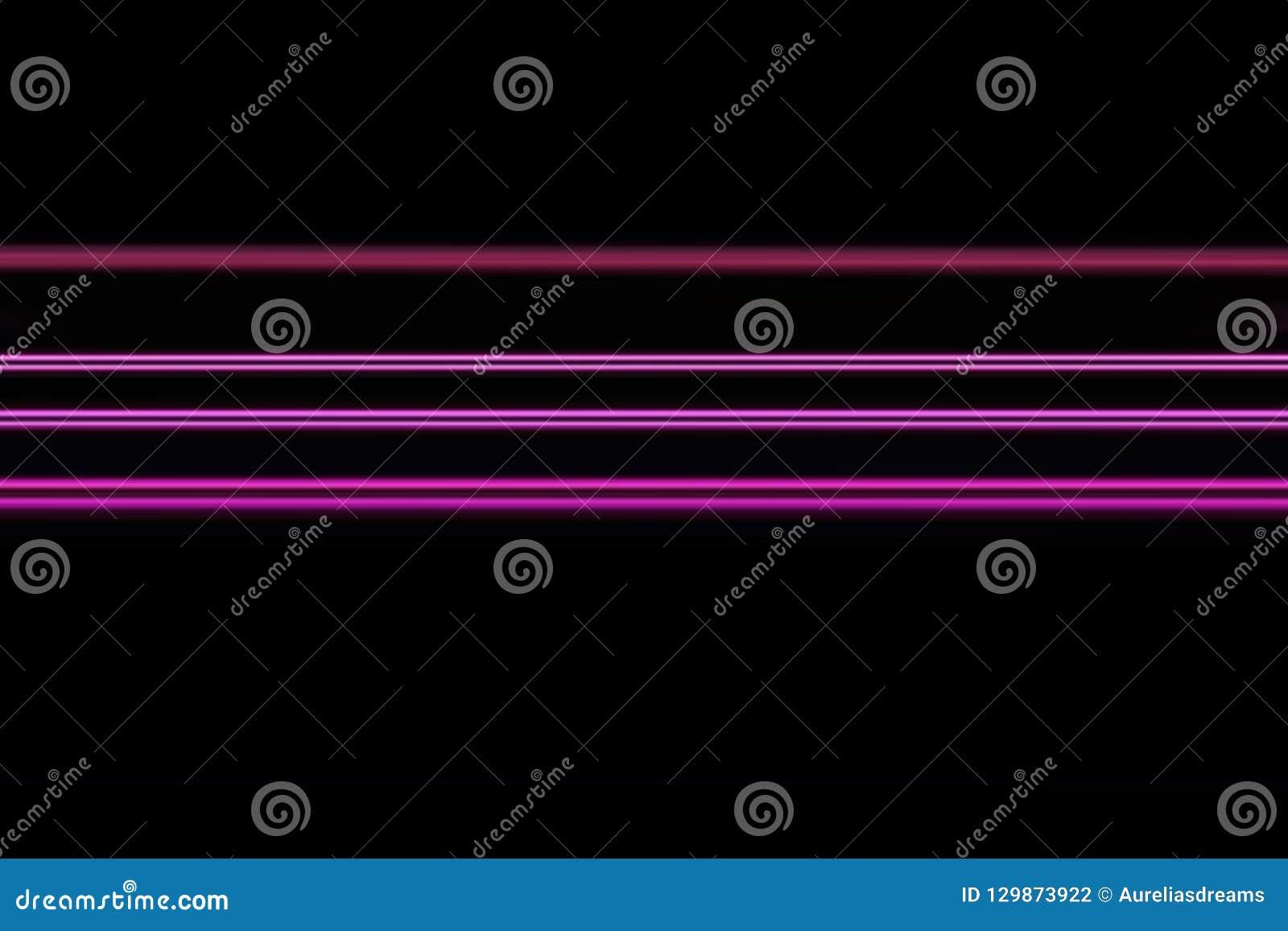 Líneas de neón horizontales brillantes fondo, textura del extracto olorful del ¡de Ð