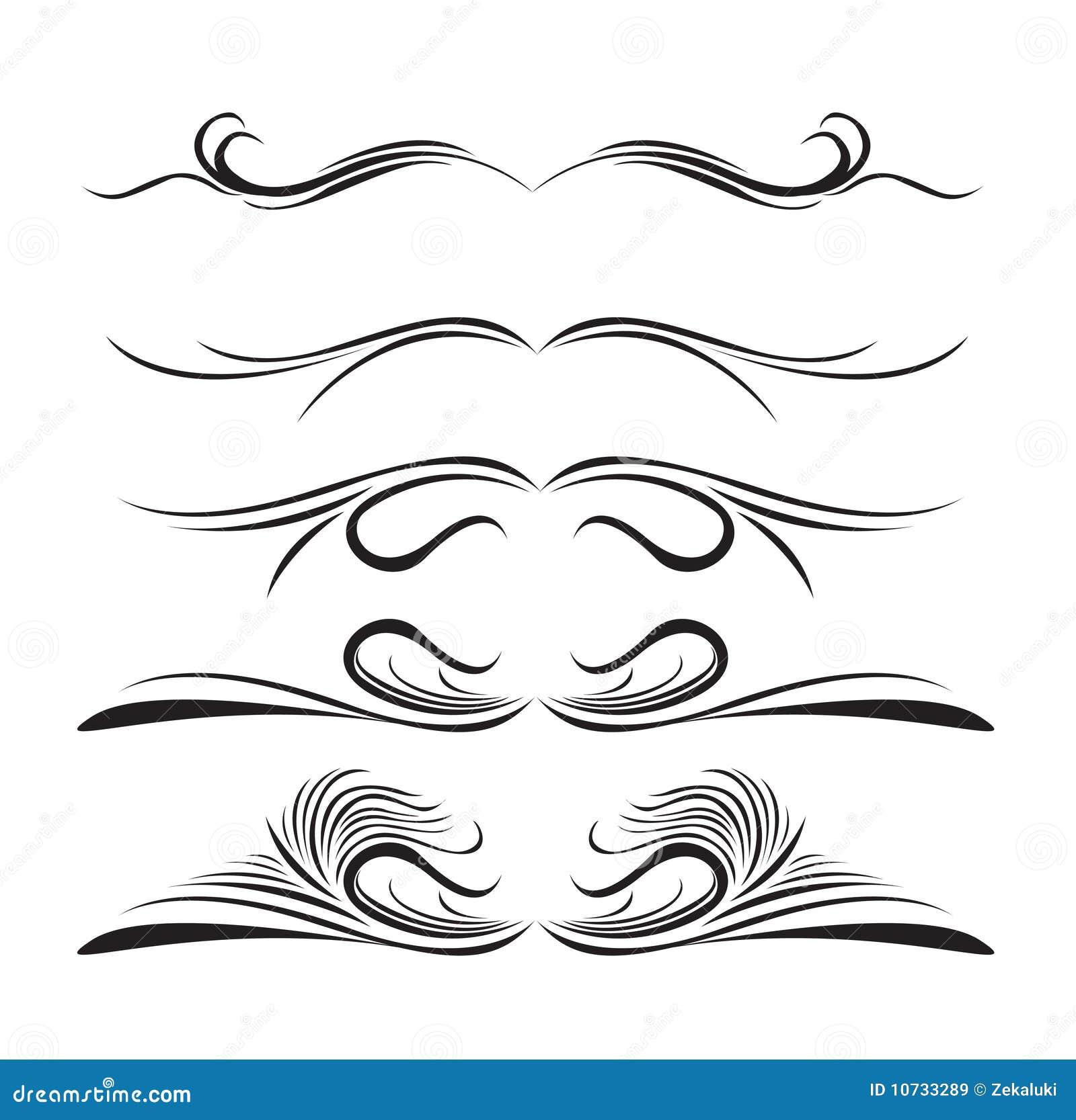 Line Design Art Rubric : Líneas elementos del diseño de diversos estilos imágenes