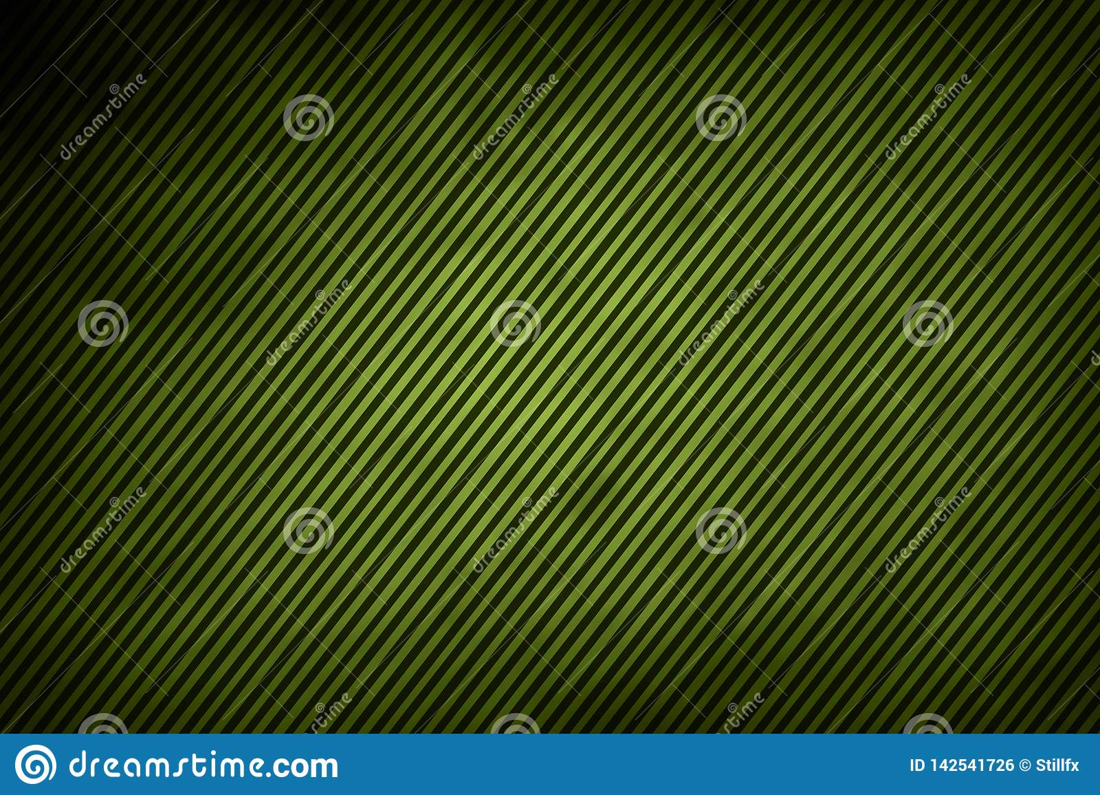 Líneas en verde