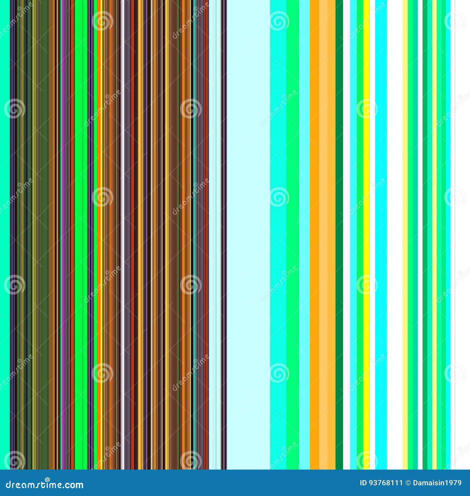Lineas Fondo En Colores De Oro Y Fosforescentes Stock De