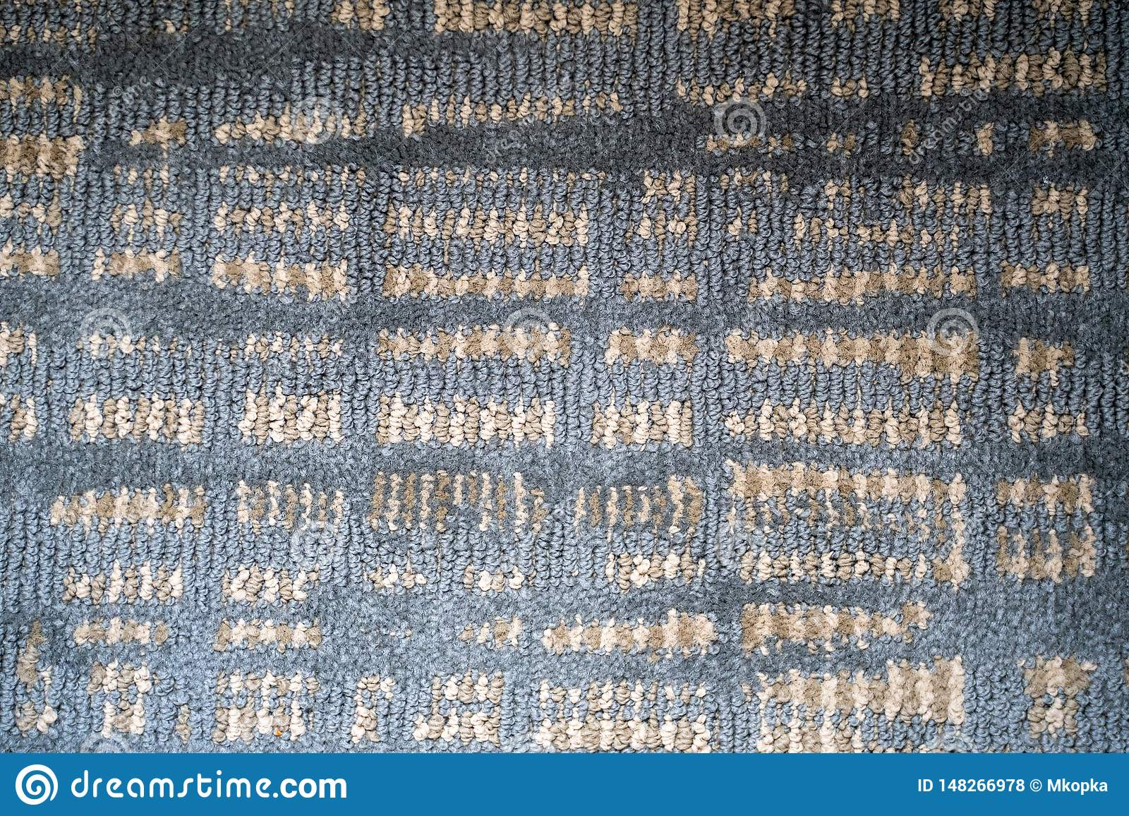 Líneas y modelos cuadrados texturizados extracto en sombras de azul claro, de poner crema y de gris