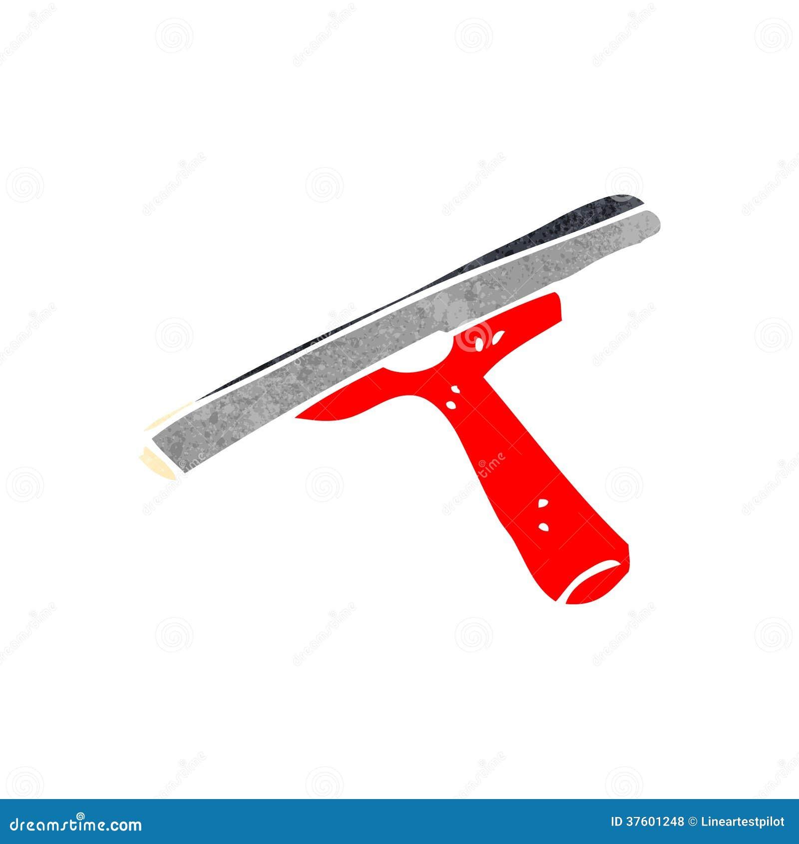 #C80403 Líquido De Limpeza De Janela Retro Dos Desenhos Animados Fotos de  824 Limpeza Janelas Vidros