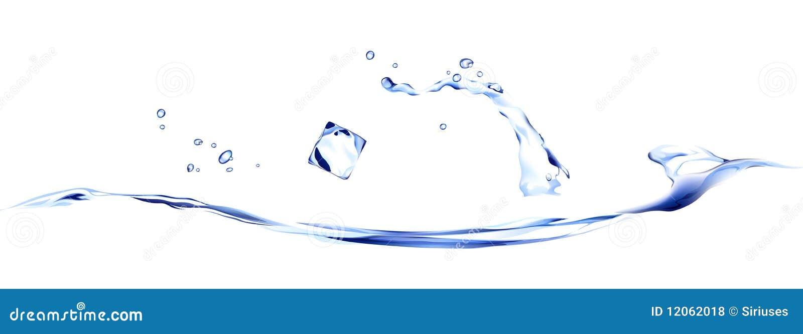 Líquido e água