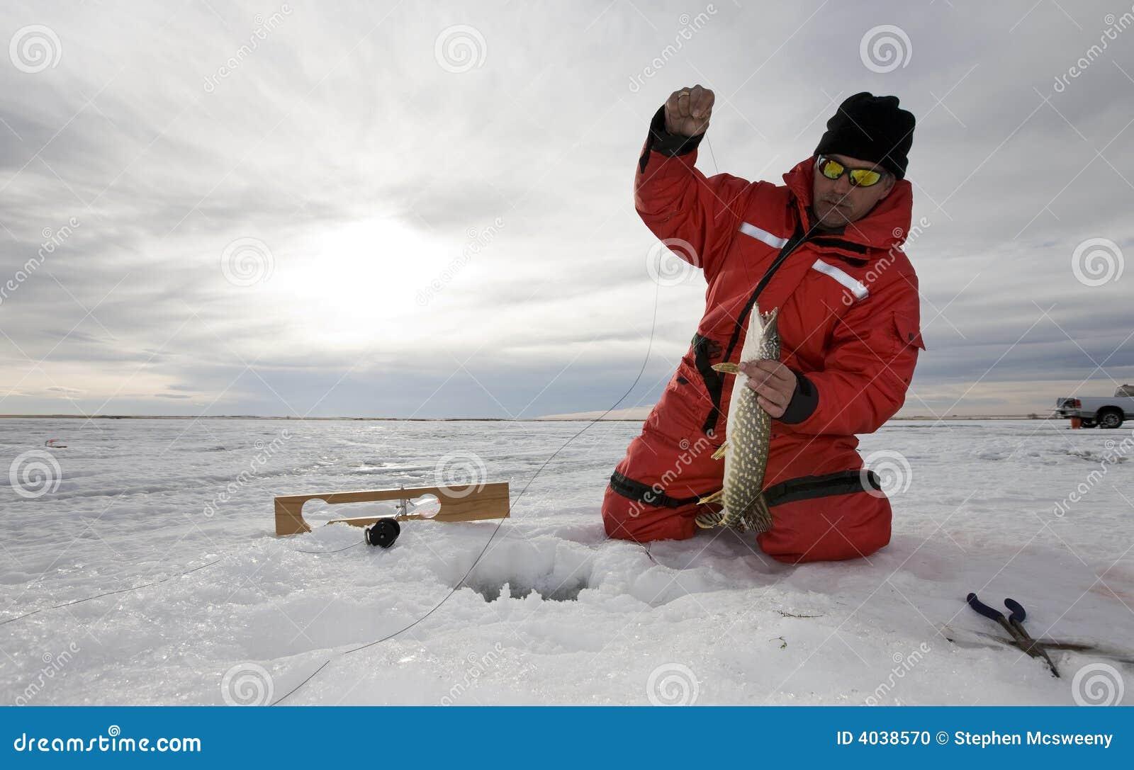 Lód połowów