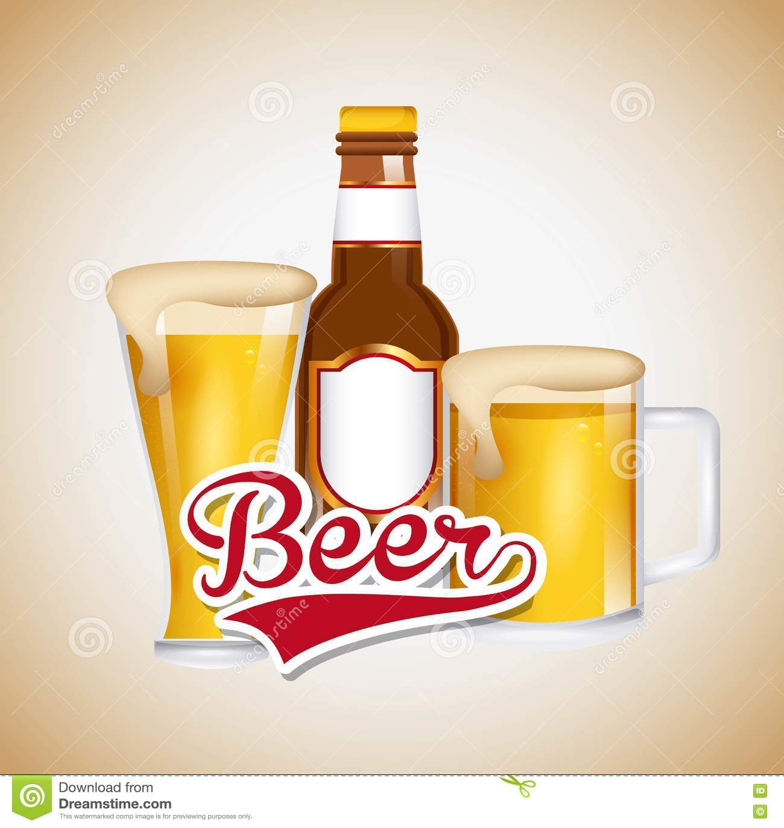 Lód - zimnego piwa emblemat