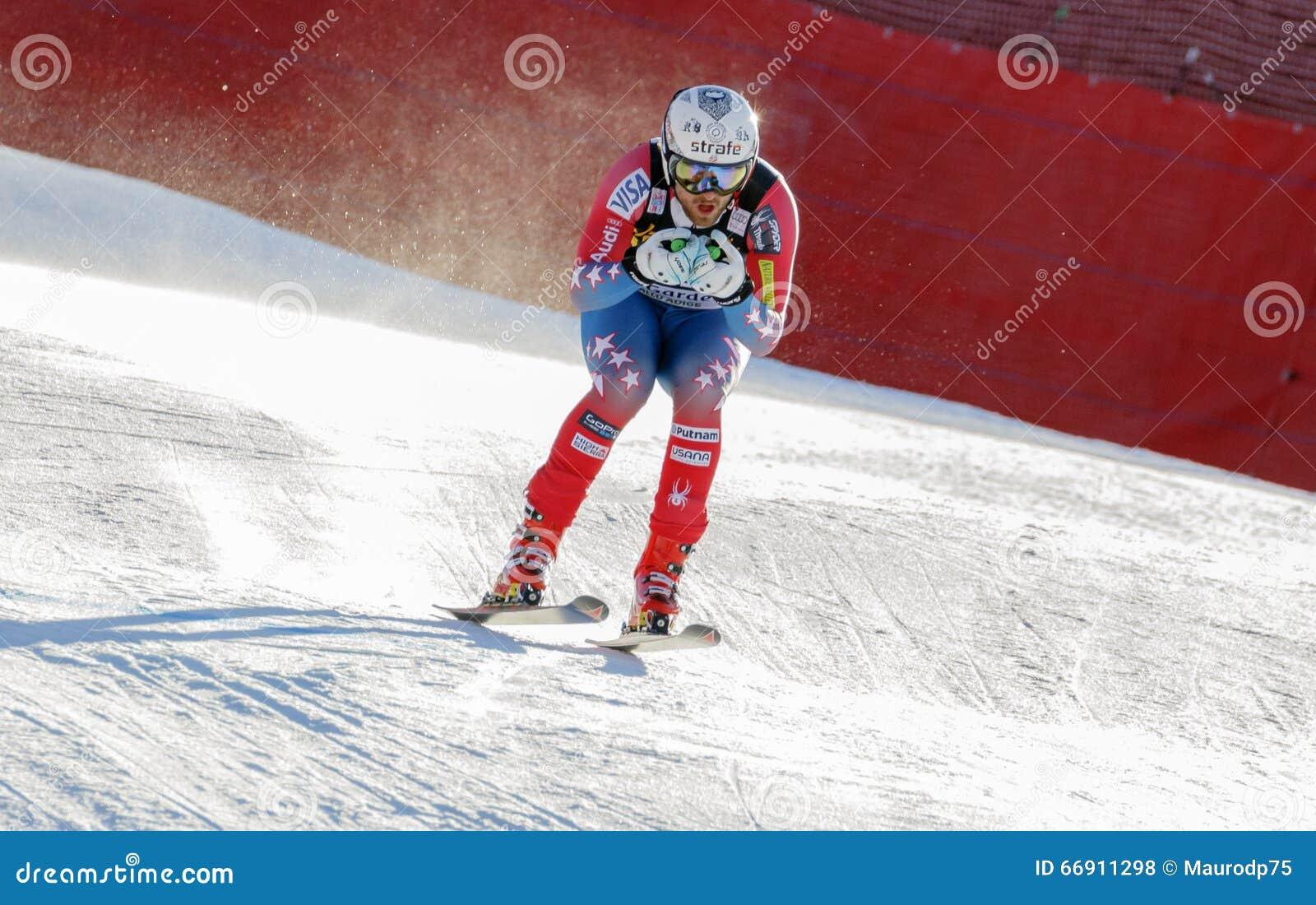 LÖNN Wiley i Audi FIS alpina Ski World Cup - mäns sluttande rommar
