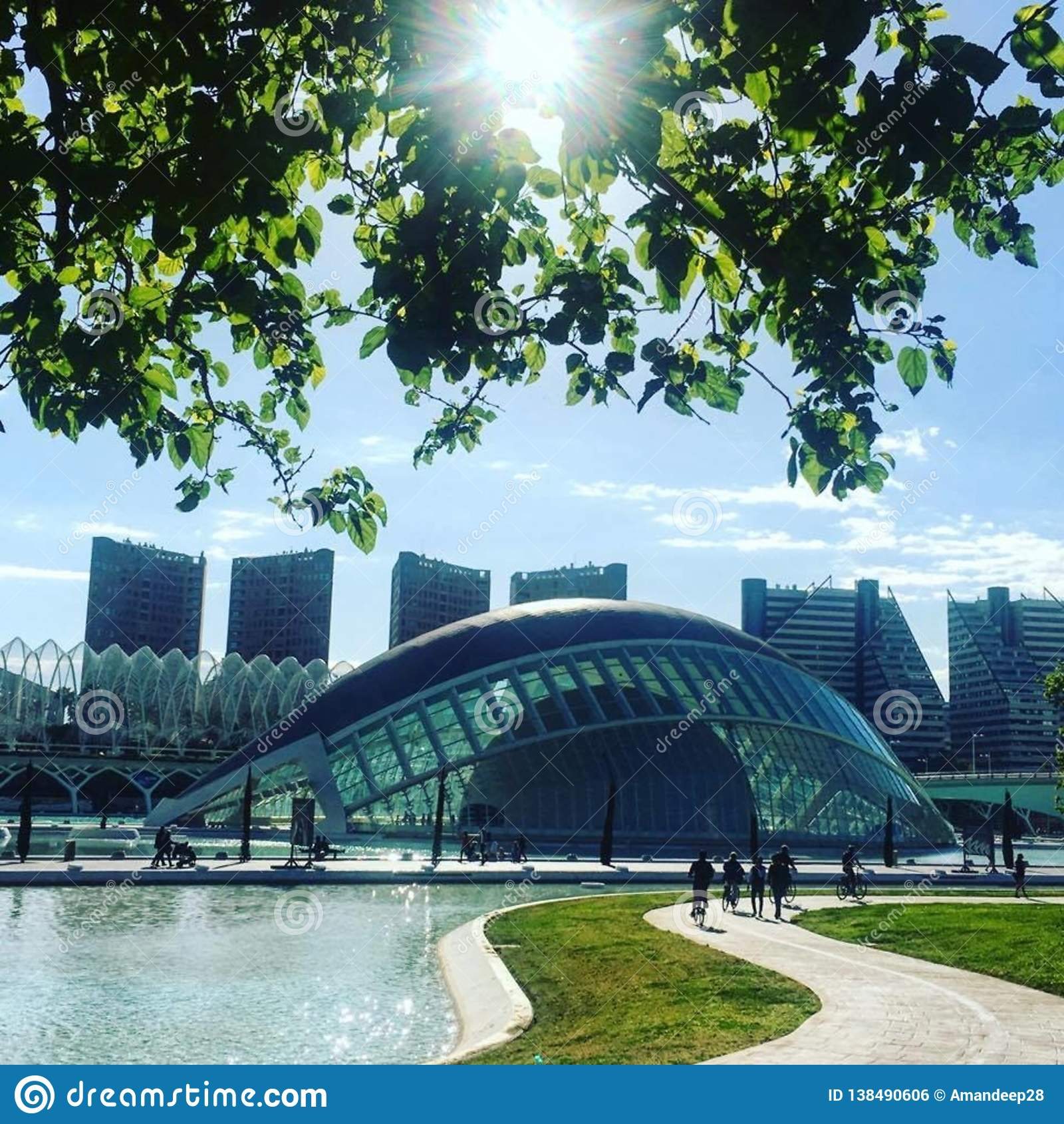 L'半球艺术大厦、城市&科学,巴伦西亚
