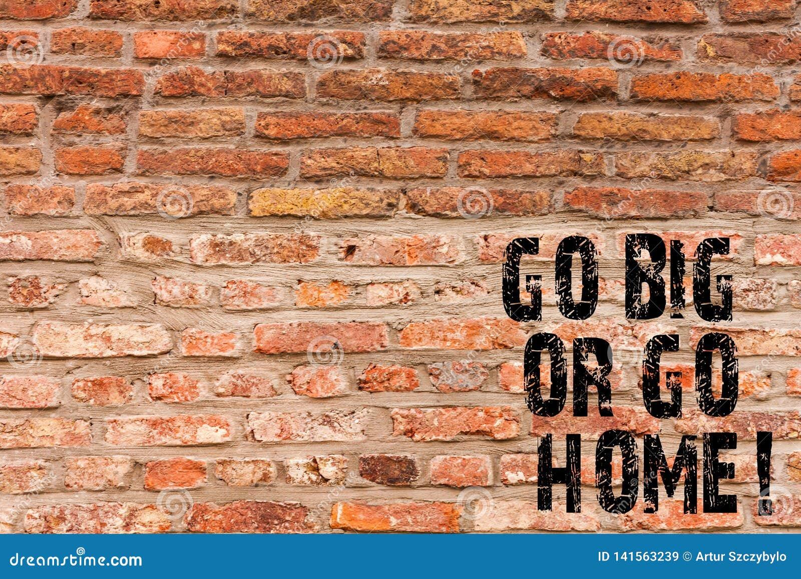 L écriture des textes d écriture disparaissent grande ou rentrent à la maison Art ambitieux de mur de briques de persistance d im