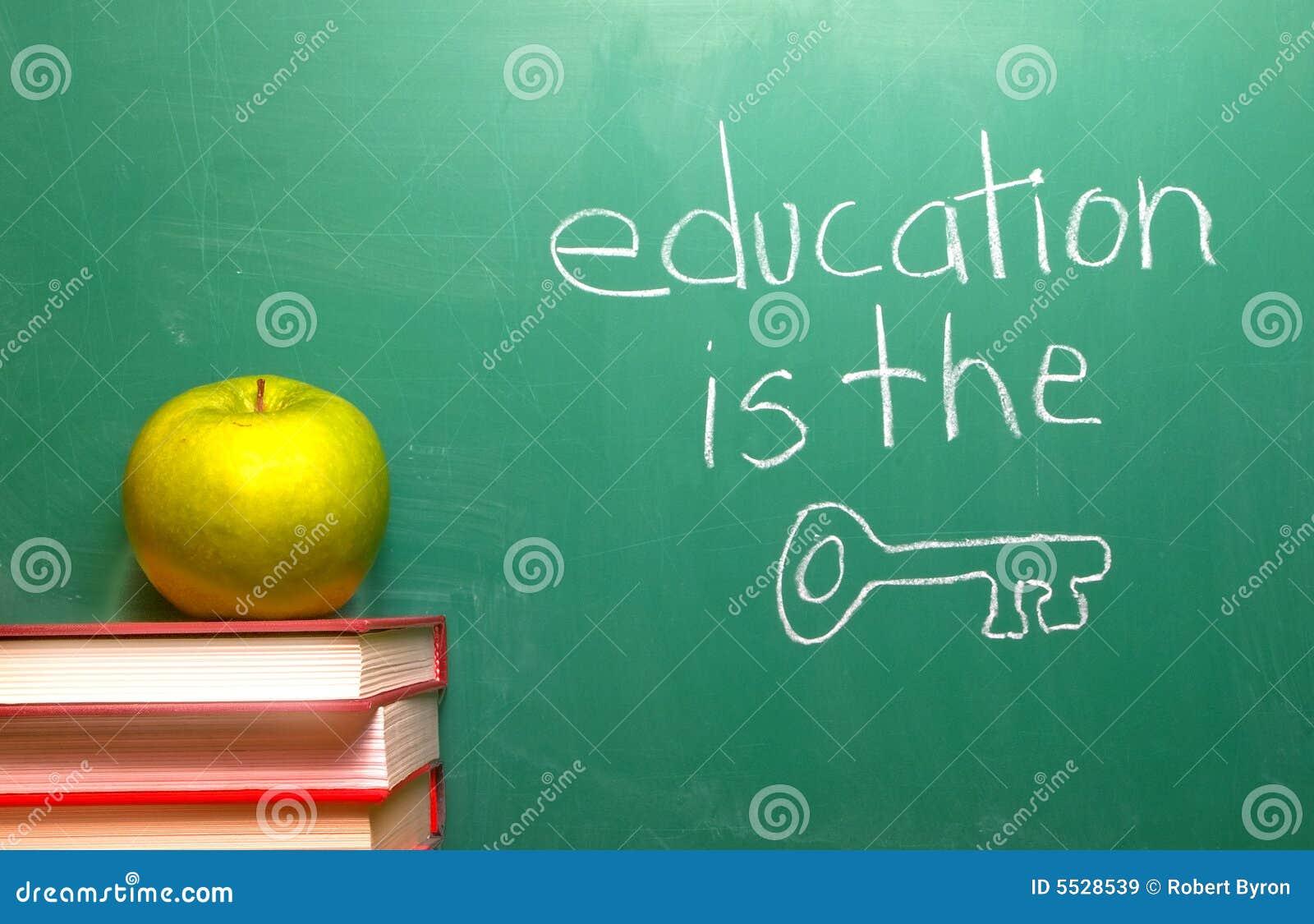 L éducation est la clé