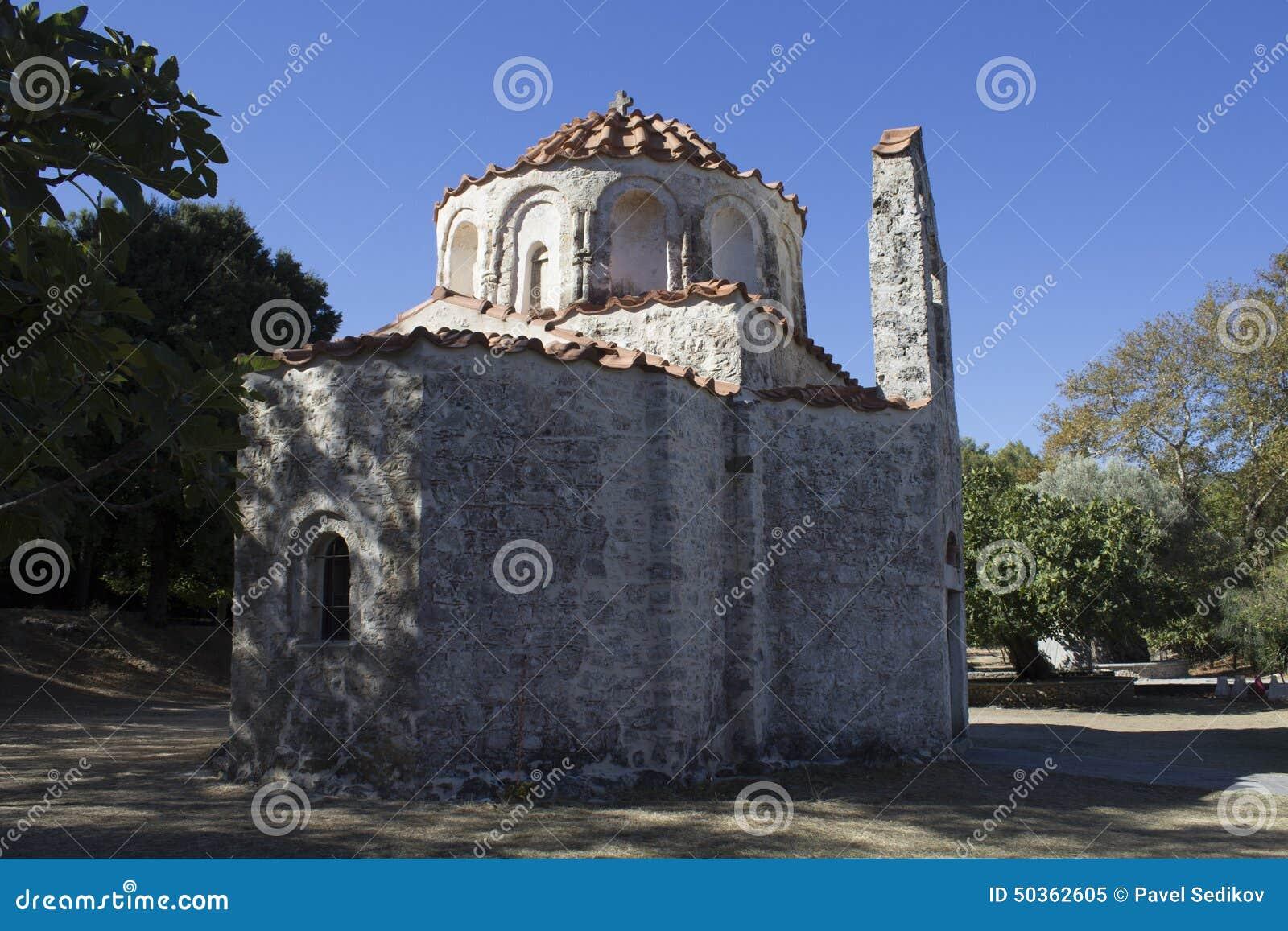 L église bizantine de Saint-Nicolas chez Fountoukli