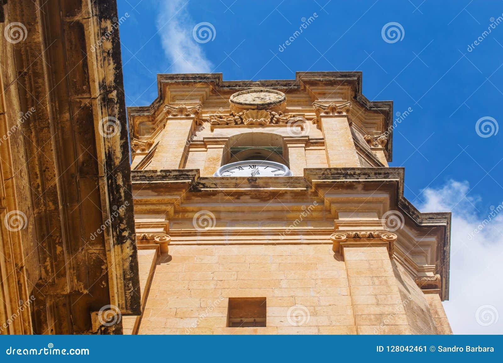 L église de Saint-Nicolas dans Siggiewi, Malte