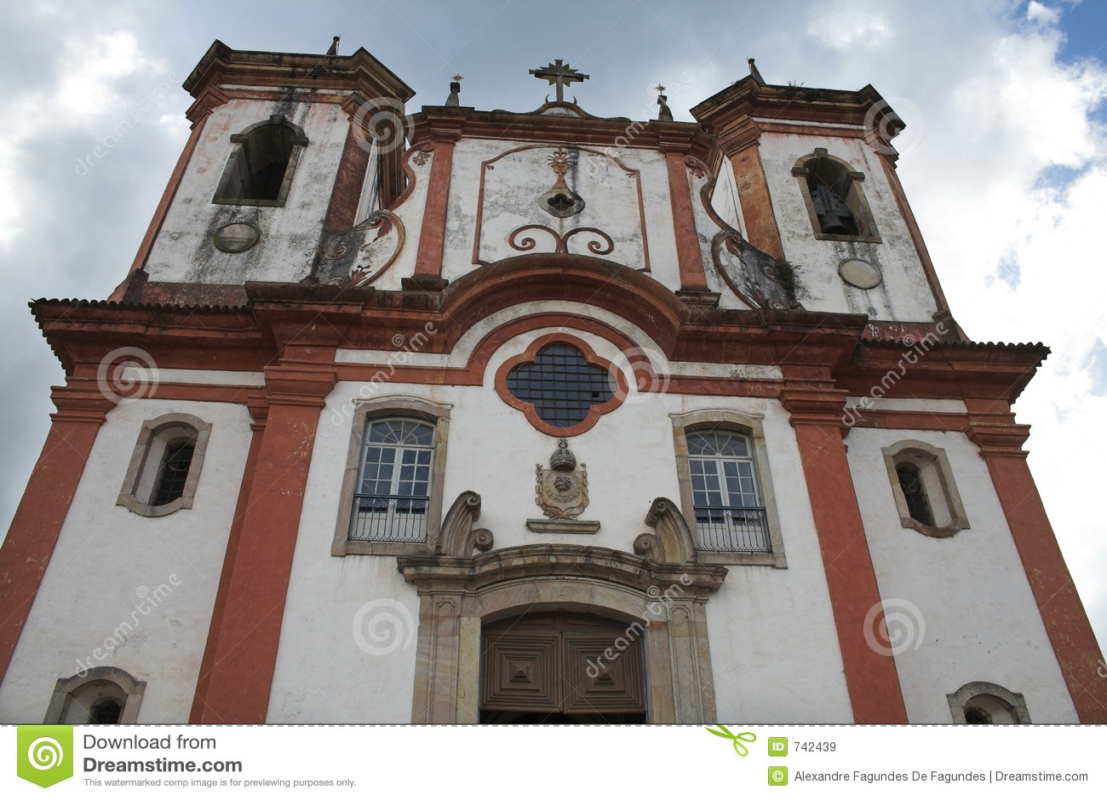 L église Nossa Senhora font Carmo, Ouro Preto