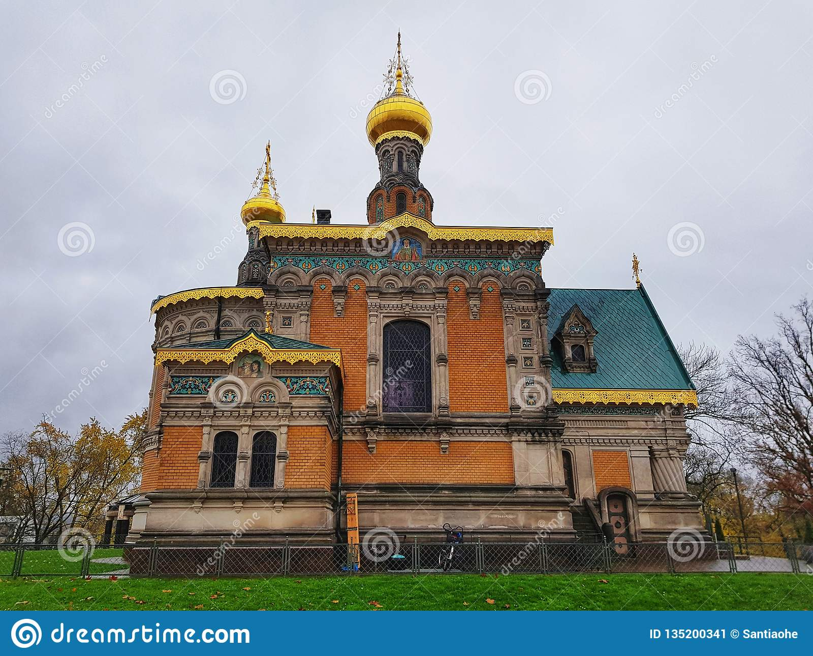 L église orientale orthodoxe à Darmstadt