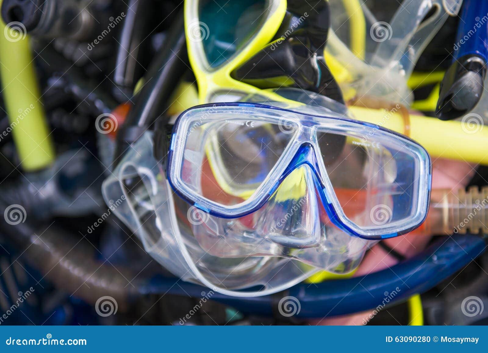 Download L'équipement Utilisé Pour La Plongée Photo stock - Image du plastique, loisirs: 63090280
