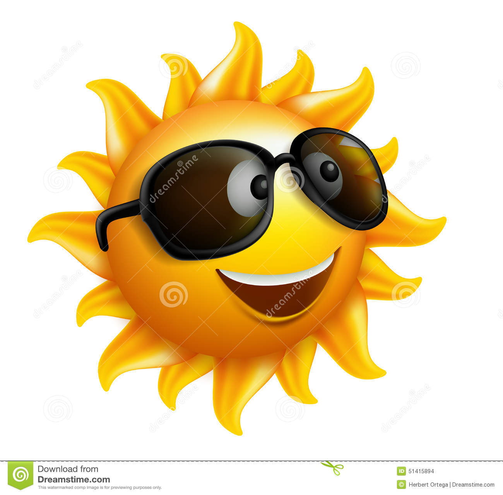 L été Sun font face avec des lunettes de soleil et le sourire heureux