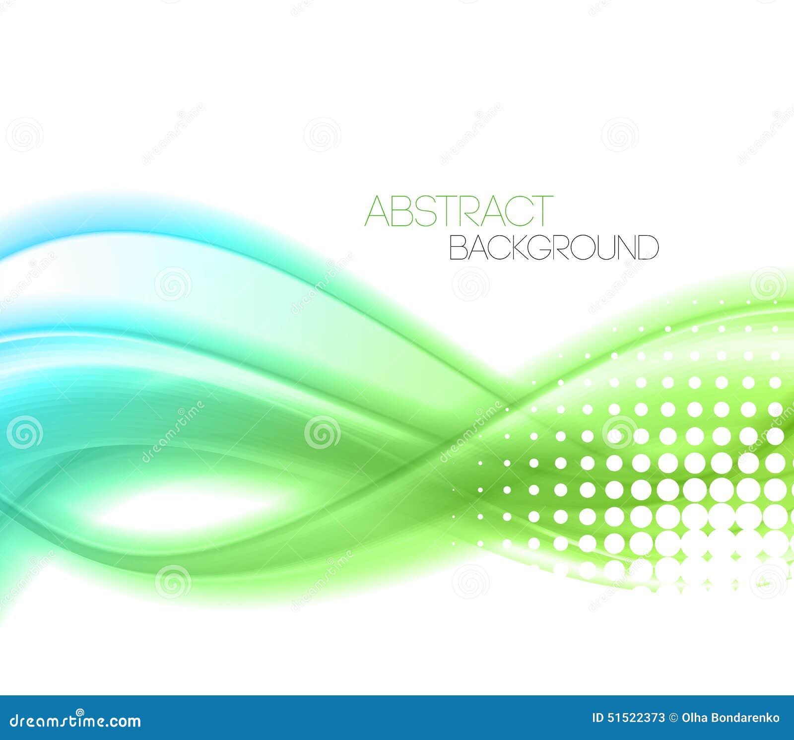 L abstrait ondule le fond conception de calibre