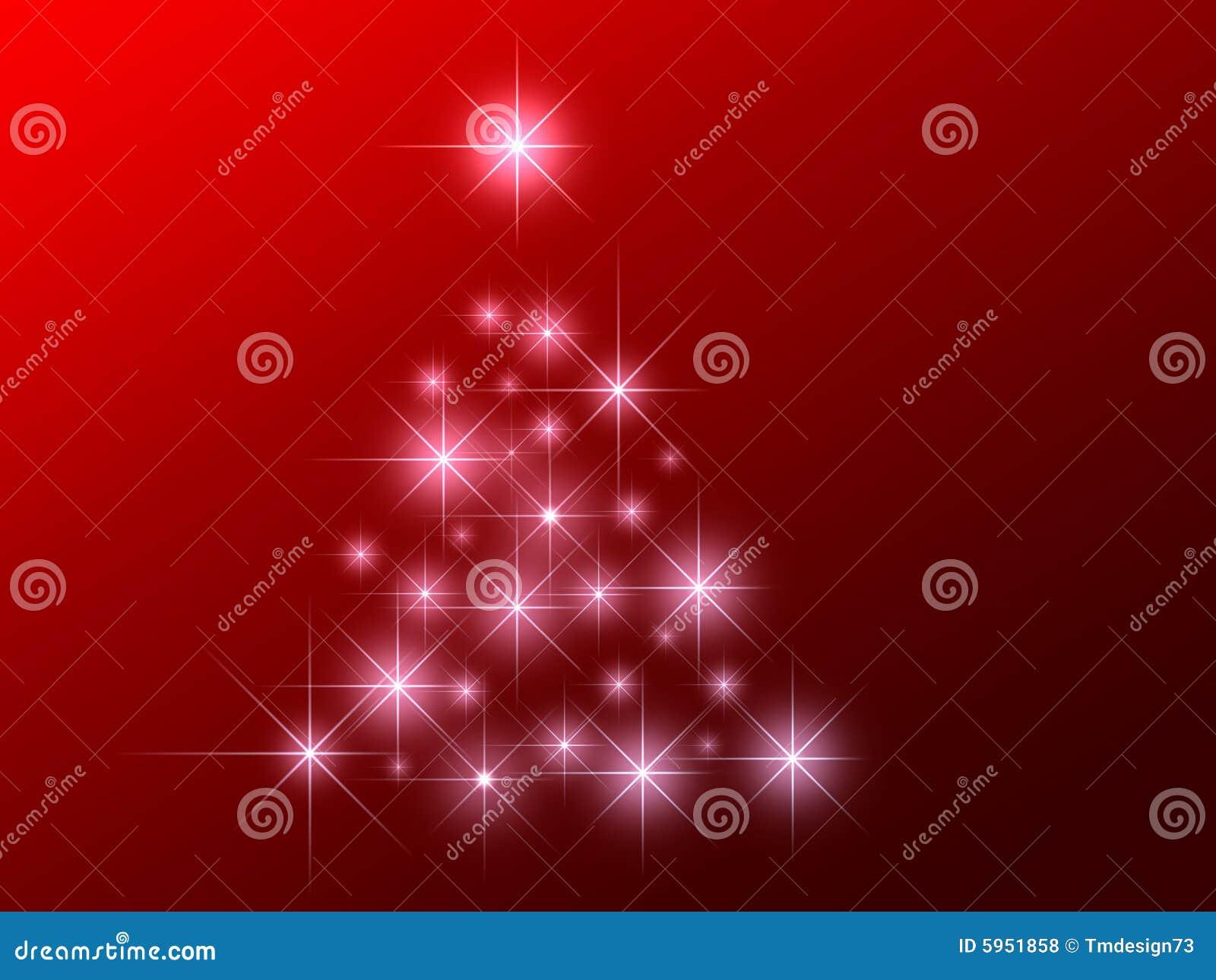 L abstrait stars l arbre de Noël