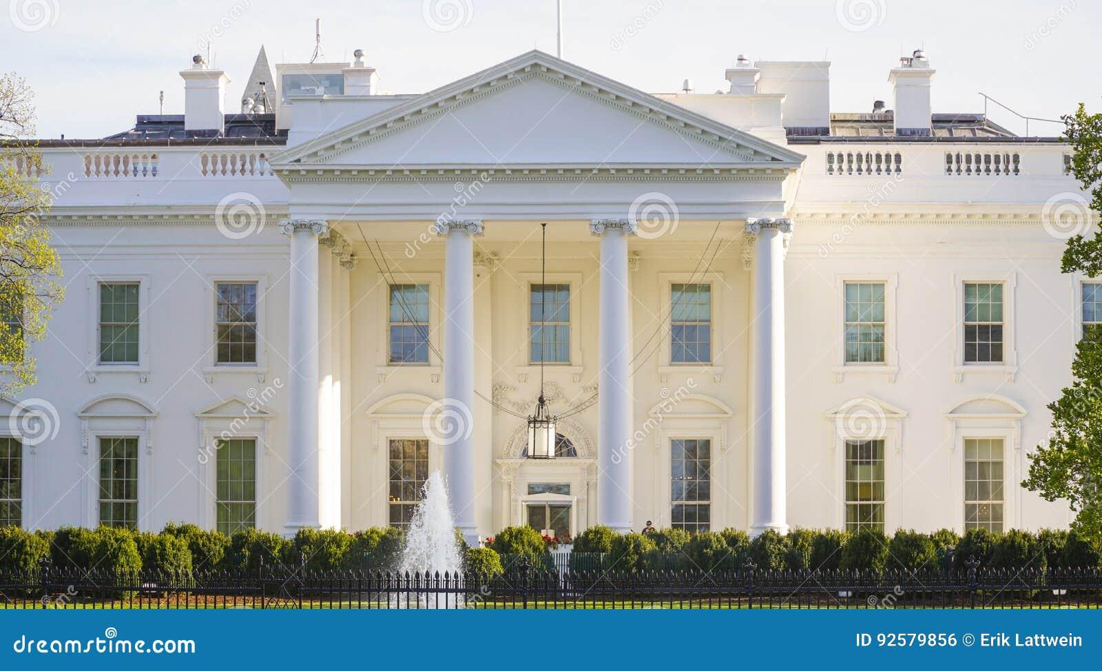 L adresse la plus célèbre aux etats unis la maison blanche washington dc