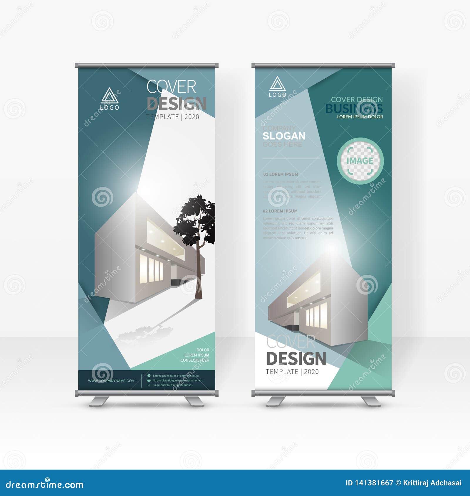 L affare rotola sul modello di progettazione, X-supporto, disposizione di progettazione verticale dell bandiera-insegna, promozio