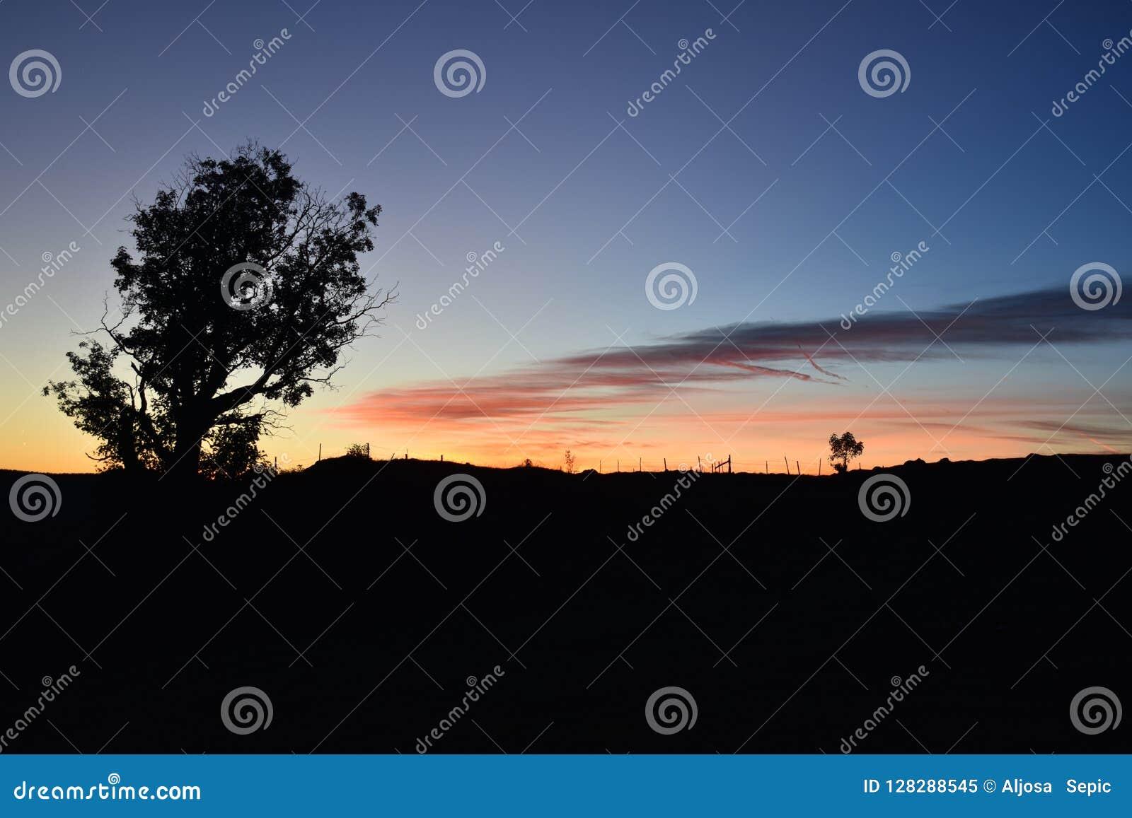 L alba ed il bello cielo variopinto