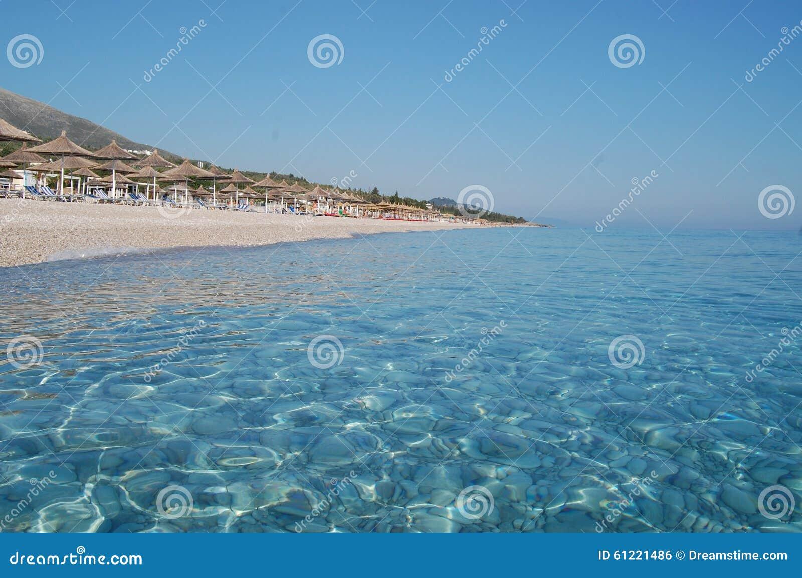 L Albanie, plage de Drymades