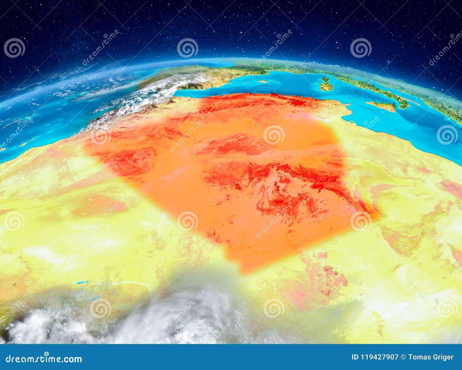 L Algérie sur terre