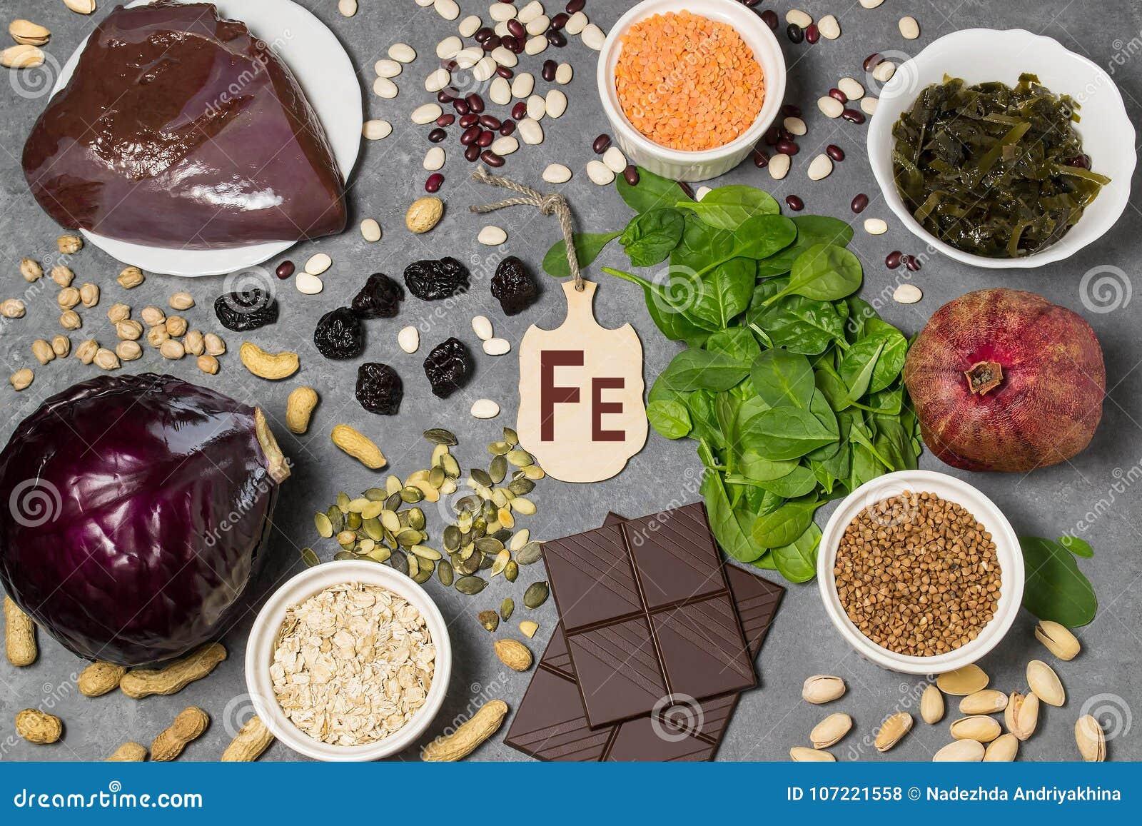 L alimento è fonte di ferrum
