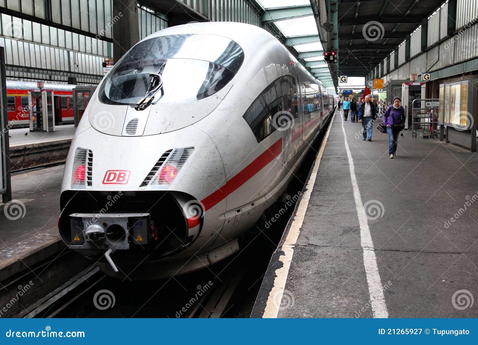 L Allemagne - train rapide