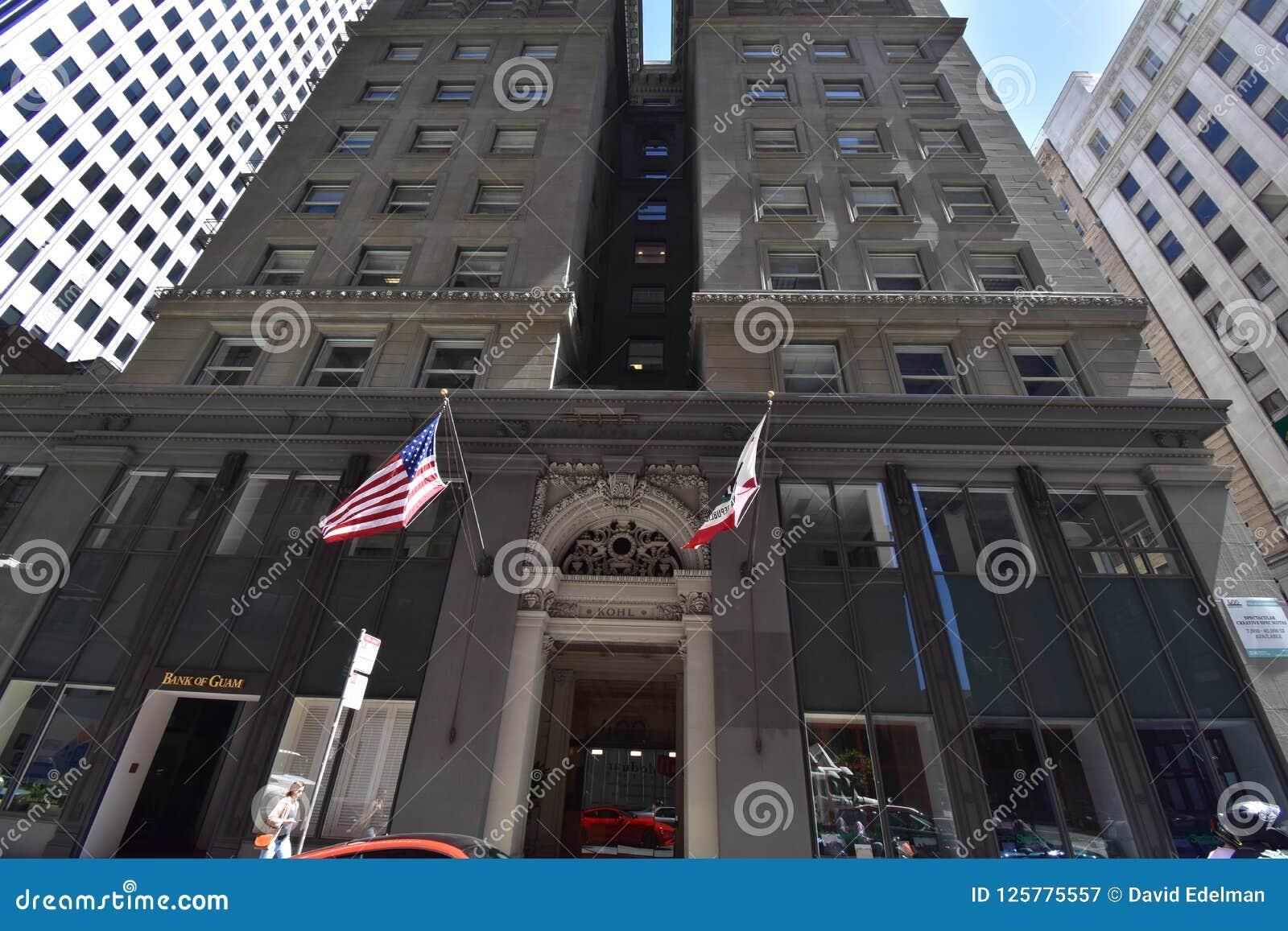 L Alvinza Hayward/Kohl Building San Francisco, 1