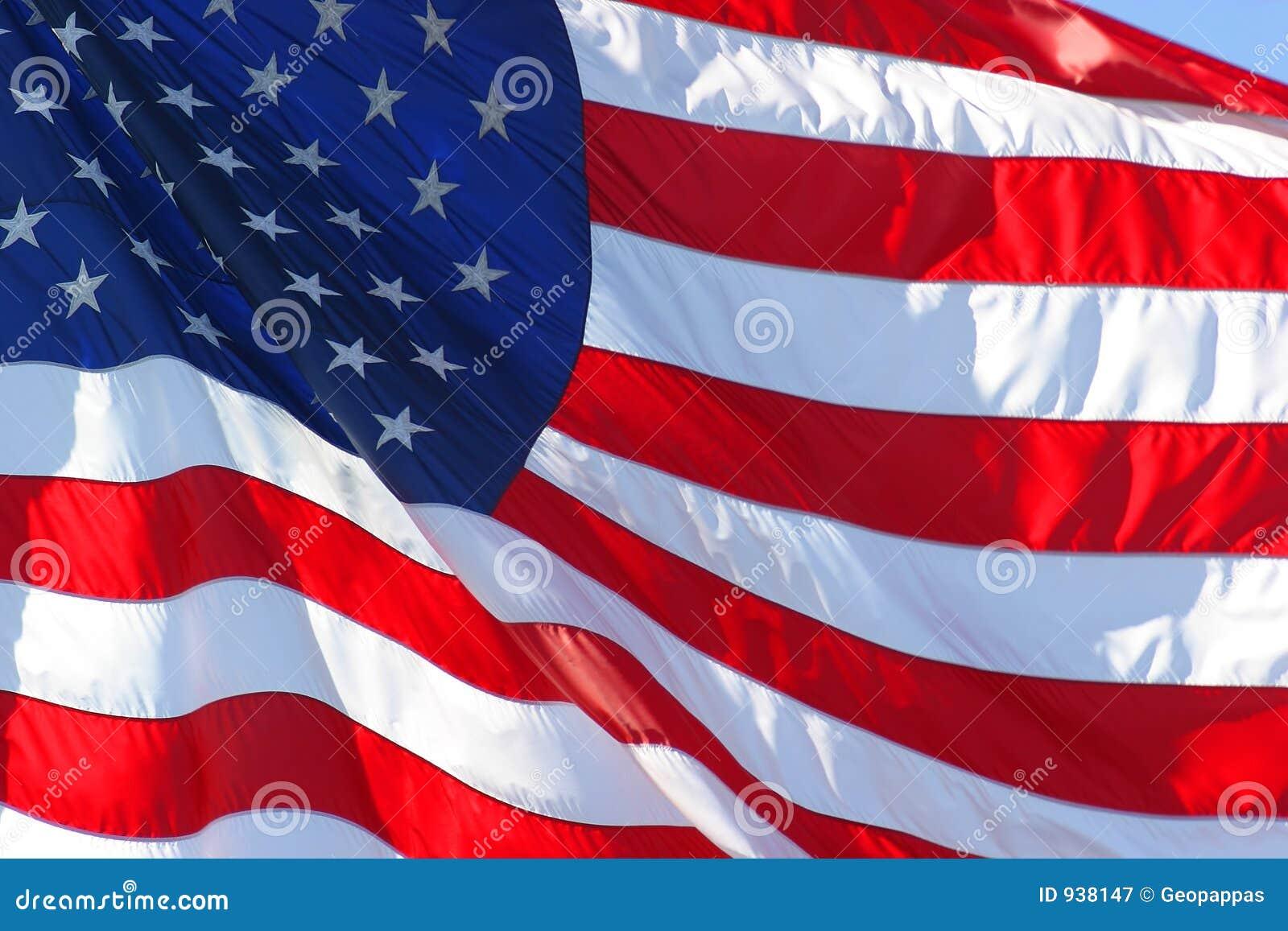 L Américain ou les Etats-Unis diminuent
