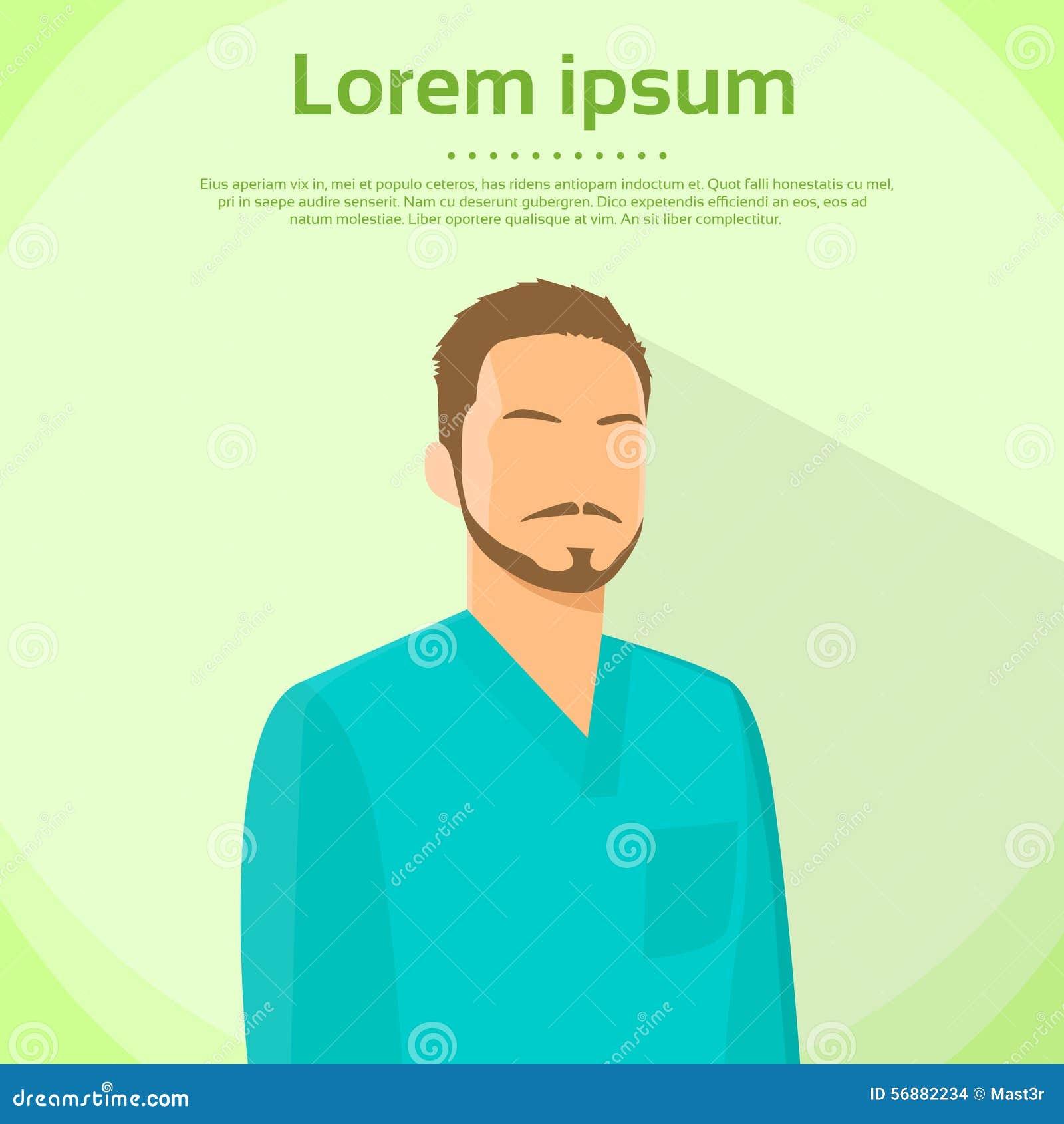 L ambulatorio di verde di Medical Doctor Wear del chirurgo sfrega