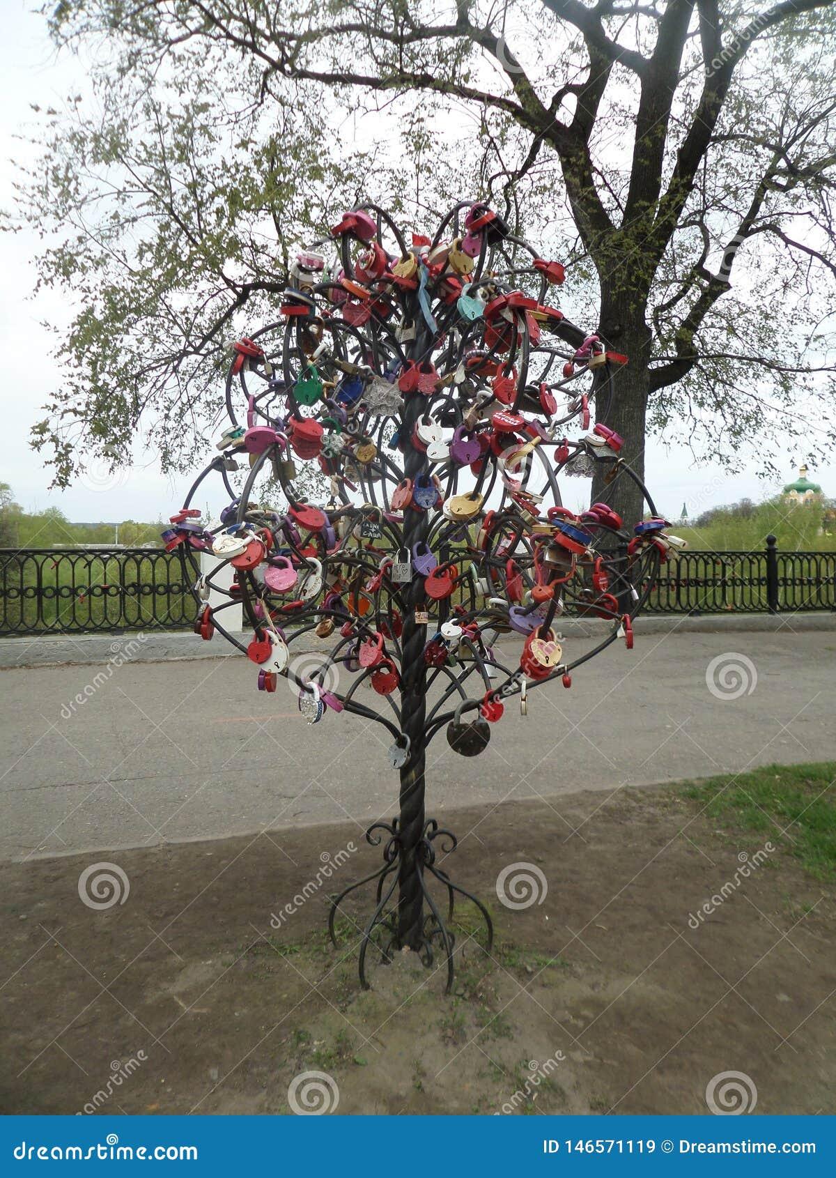 L amore ? un albero per prendere la cura di