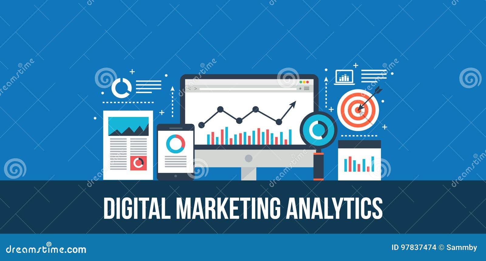 L analisi dei dati ed i dati di vendita di Digital riferiscono - il concetto di progetto piano