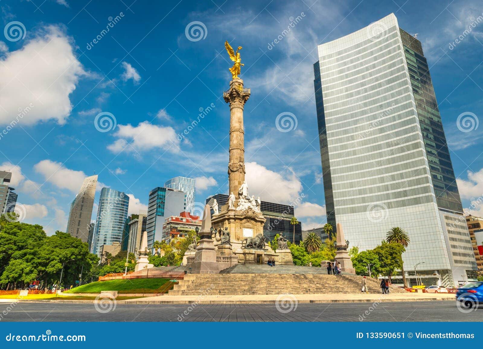 L angelo di indipendenza in Città del Messico