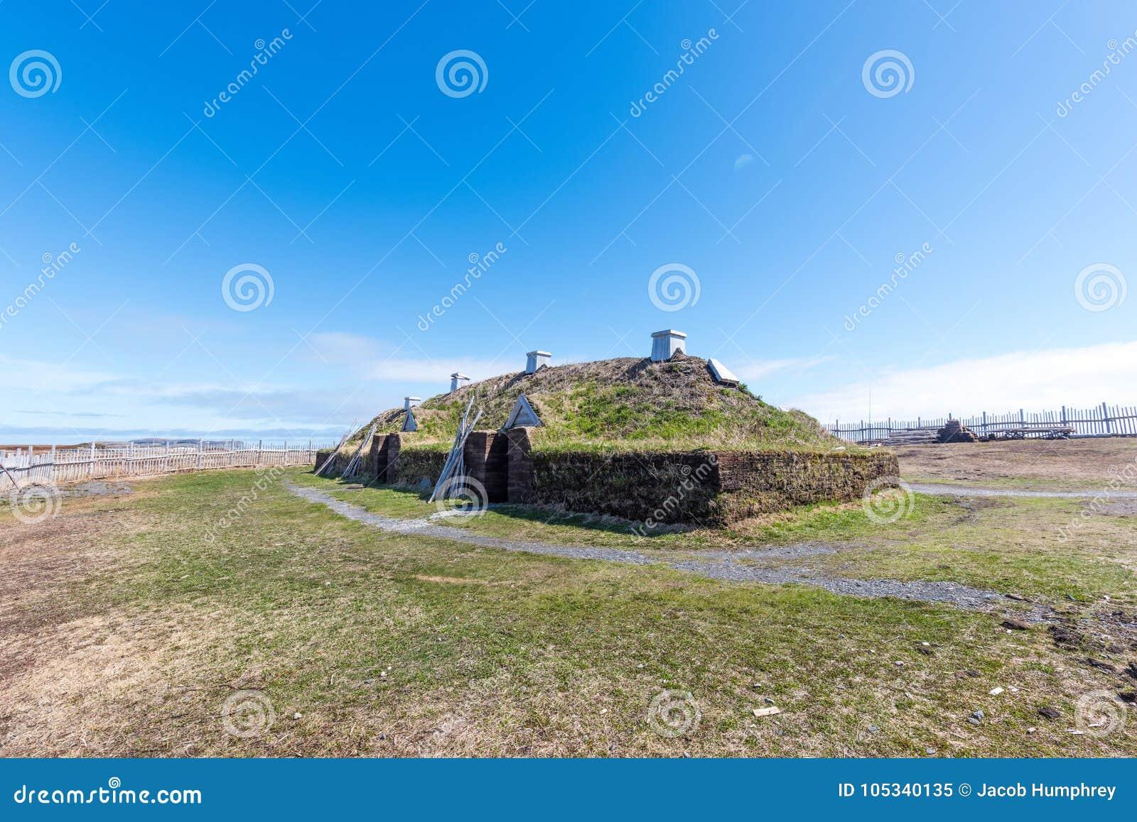 L`anse Aux Meadows Viking Village, National Historic Site, Newfoundland