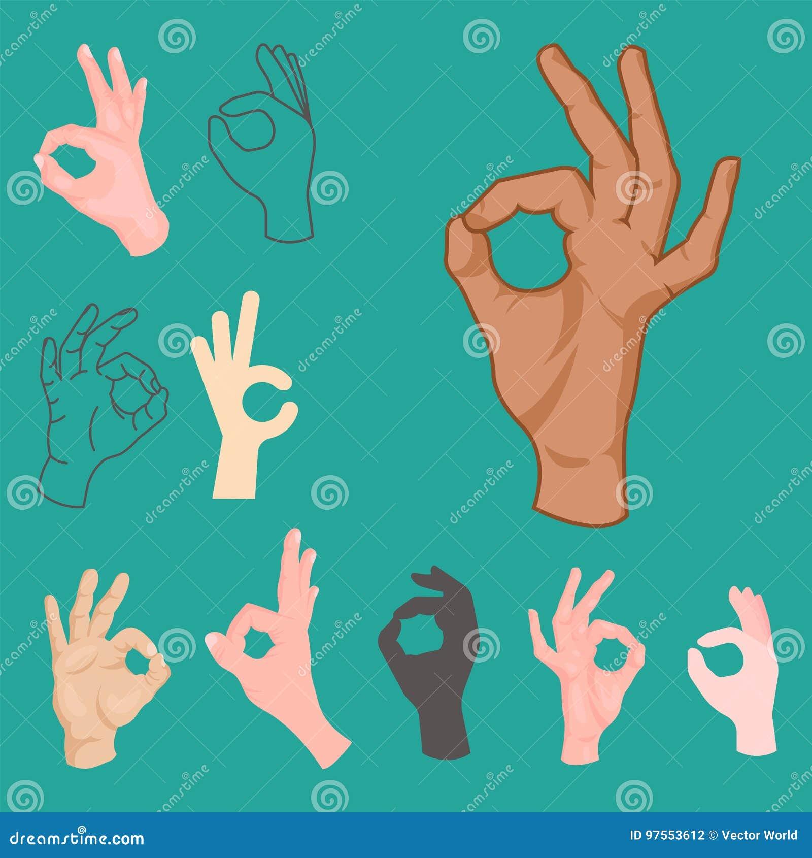 L approvazione passa l essere umano di affari del segnale di accordo di okey di gesto di successo sì acconsente il migliore vetto