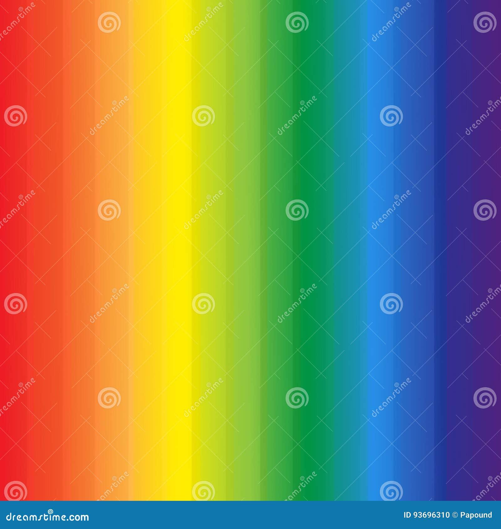 L arc-en-ciel abstrait colore le fond de rayures