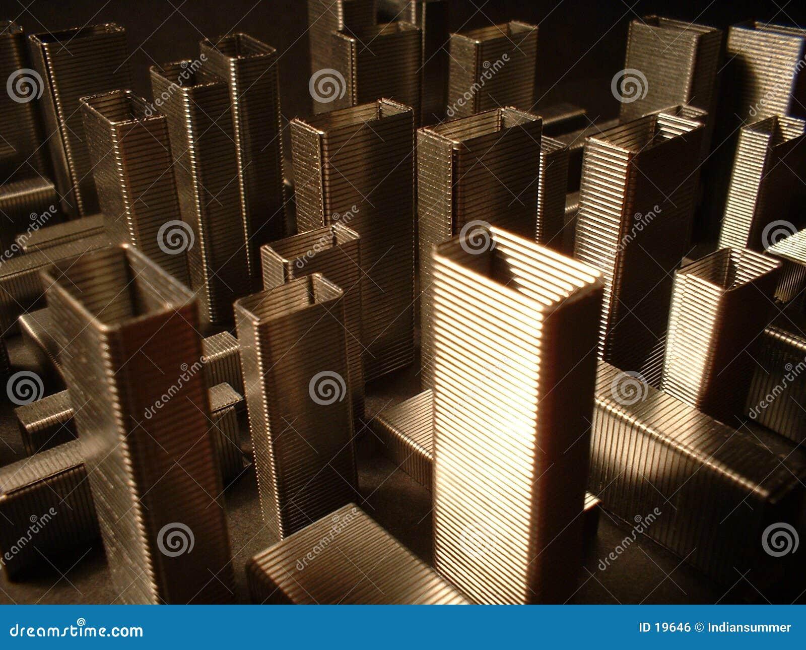 L architecture des agrafes