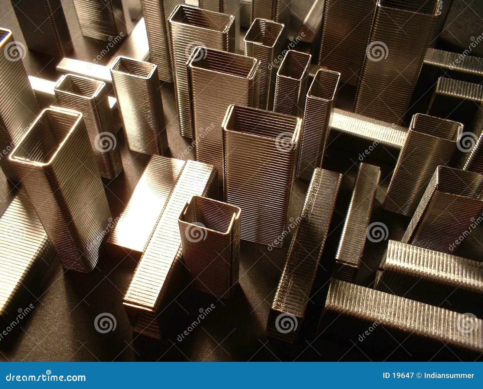 L architecture II des agrafes