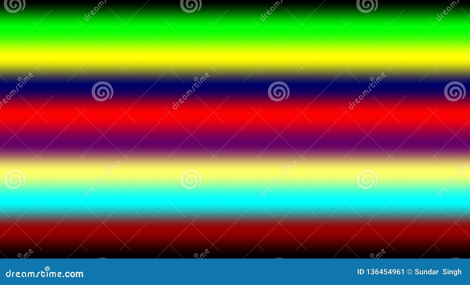 L arcobaleno astratto colora il fondo, illustrazione di vettore della carta da parati