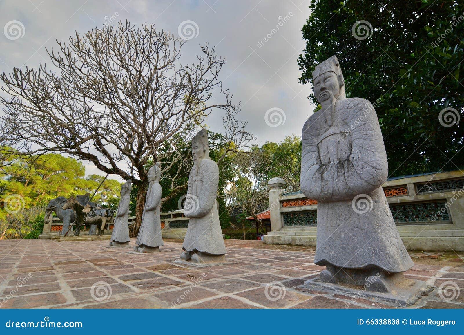 L area della tomba Tomba del Tu Duc Hué vietnam